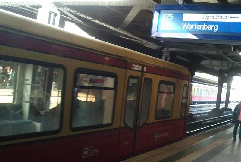 Zug fällt aus!